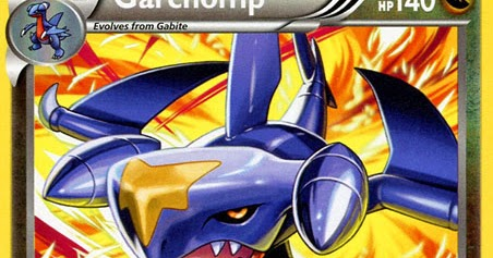 Garchomp #91/124 -- Dragons Exalted Pokemon Card Review ...