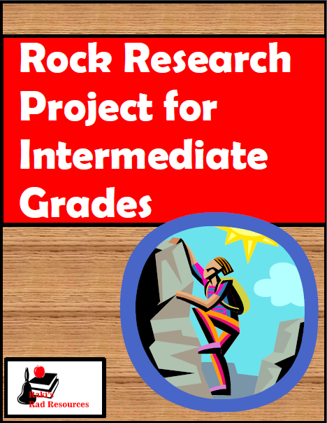 10 Tips to making projects easier for elementary students and lower level students - classroom suggestions from a seasoned teacher at Raki's Rad Resources. Rock Research Project