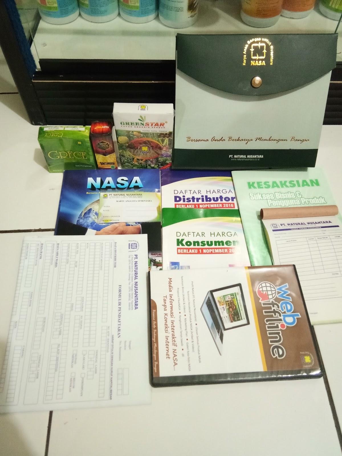 Cara Mudah Mendaftar Distributor Nasa Penan Info Pendaftaran Member Wa 082220005350