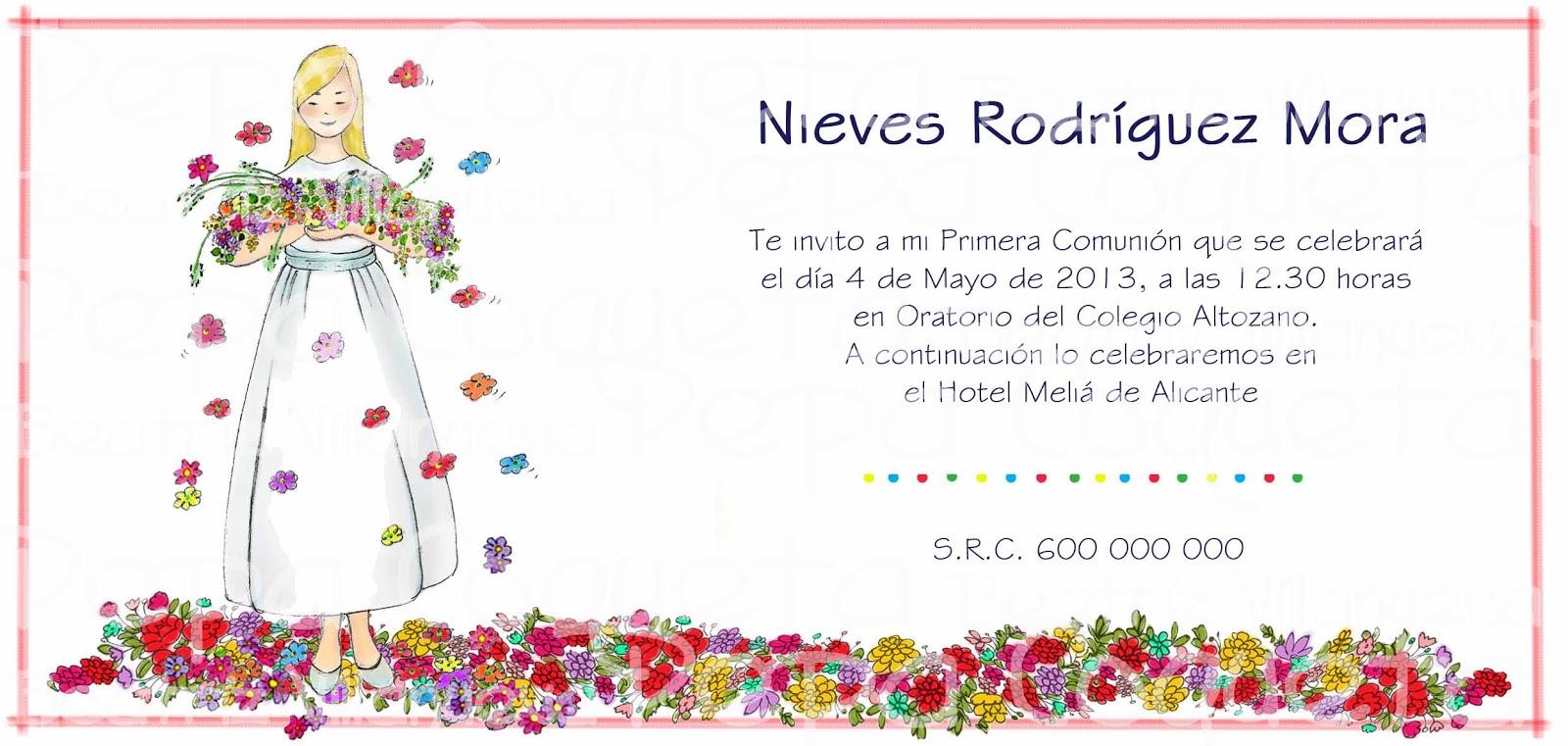 InvitaciÓn A Desayuno DÍa De Las Madres: Invitaciones Del 10 De Mayo