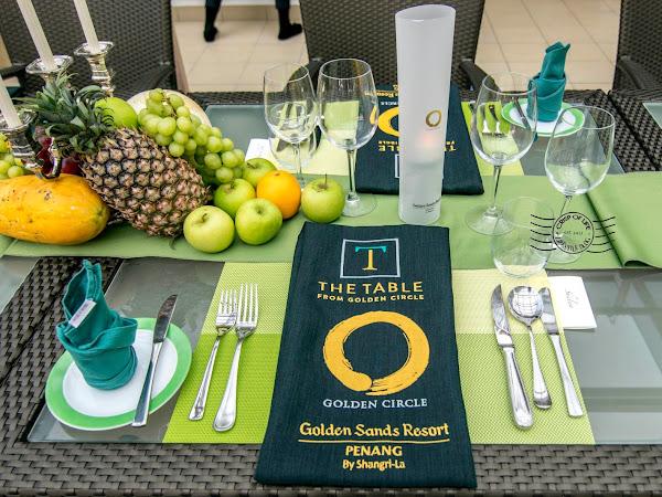The Table from Golden Circle @ Golden Sands Resort Penang, Batu Ferringhi