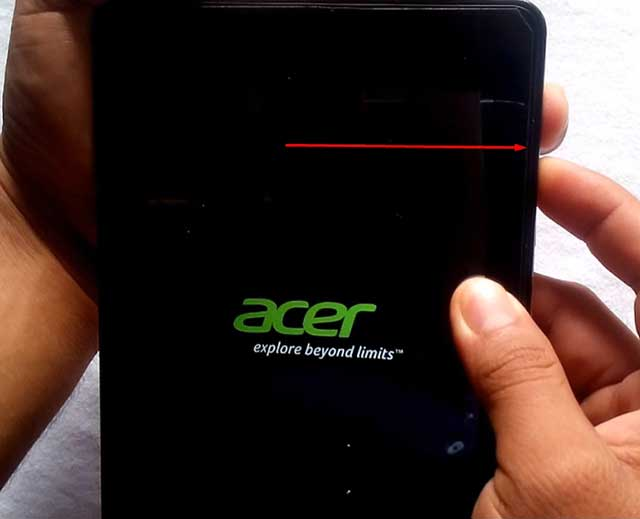 resetear tablet acer iconia B1 730