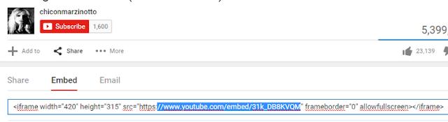 cara mudah memasang video youtube responsive