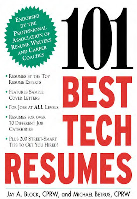 101 Best Tech Resumes, Pdf ebook