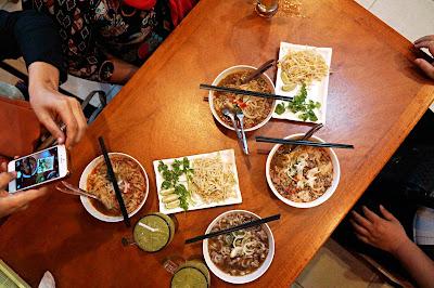 Berkumpul bersama food blogger Pontianak