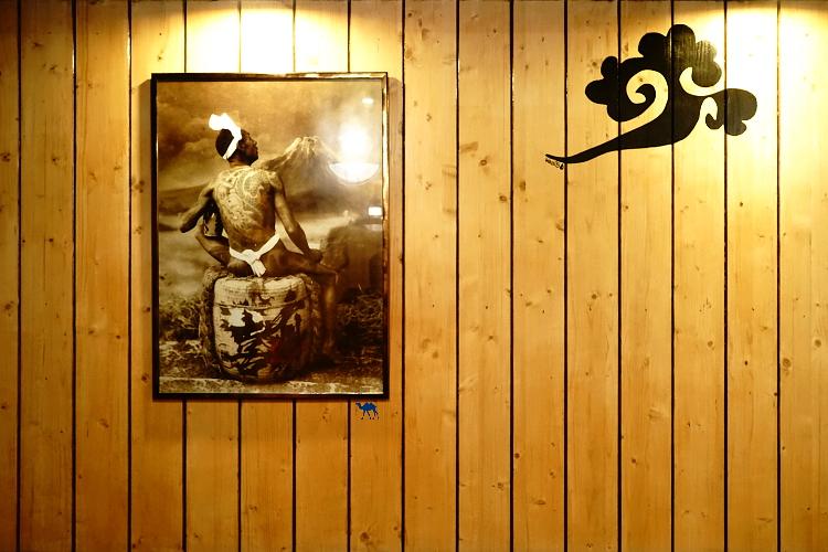 Le Chameau Bleu - Blog Gastronomie et Voyage - Décor du restaurant Shiso Burger à Paris - Burger asiatique