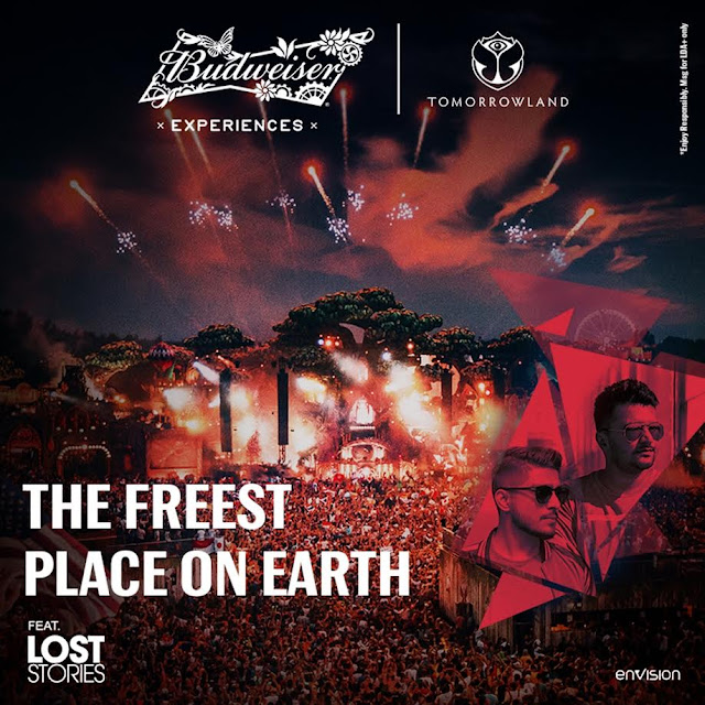 Budweiser Experiences Announces Budweiser X Tomorrowland Alongside Lost Stories
