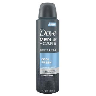 Xịt Khử Mùi Cho Nam Dove Men+ Care Dry Spray Cool Fresh - XKM001