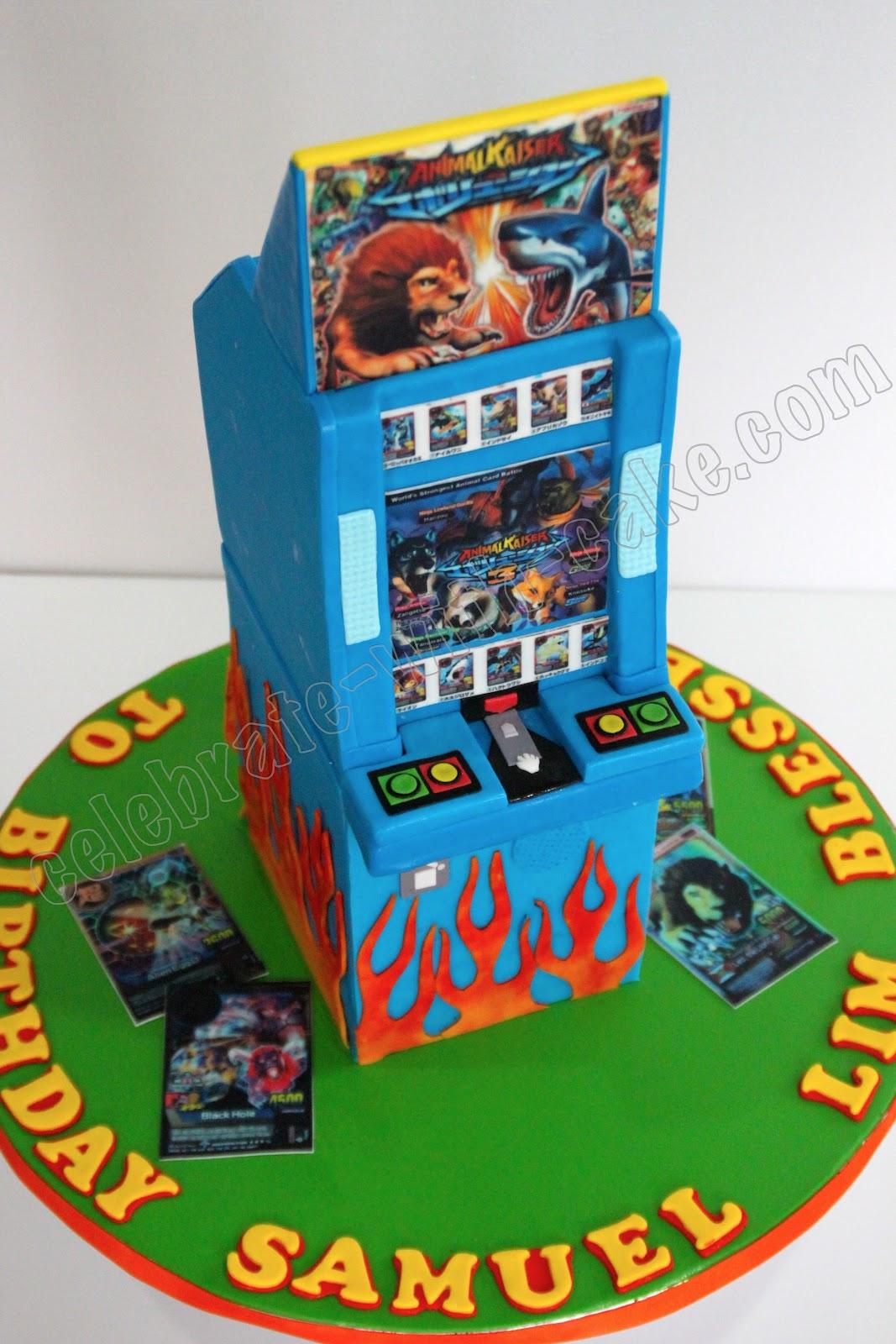 Celebrate with Cake!: Animal Kaiser Cake