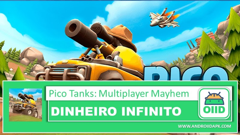 Pico Tanks: Multiplayer Mayhem - APK MOD HACK - Dinheiro Infinito