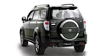 Dimensi Toyota Rush