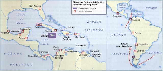 Resultado de imagen de caribe español siglo XVII