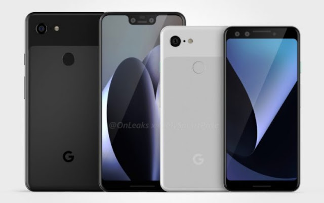 Google Pixel 3 and Google Pixel 3 XL Design Leaked