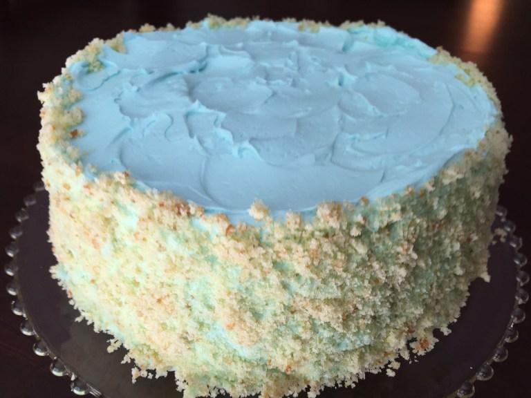 Vanilla Screwball Cake
