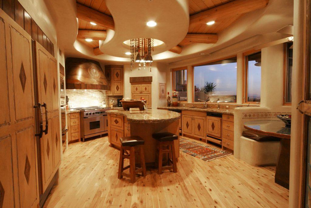 Ideen Design eine schöne rustikale Küche Küche für eine ...