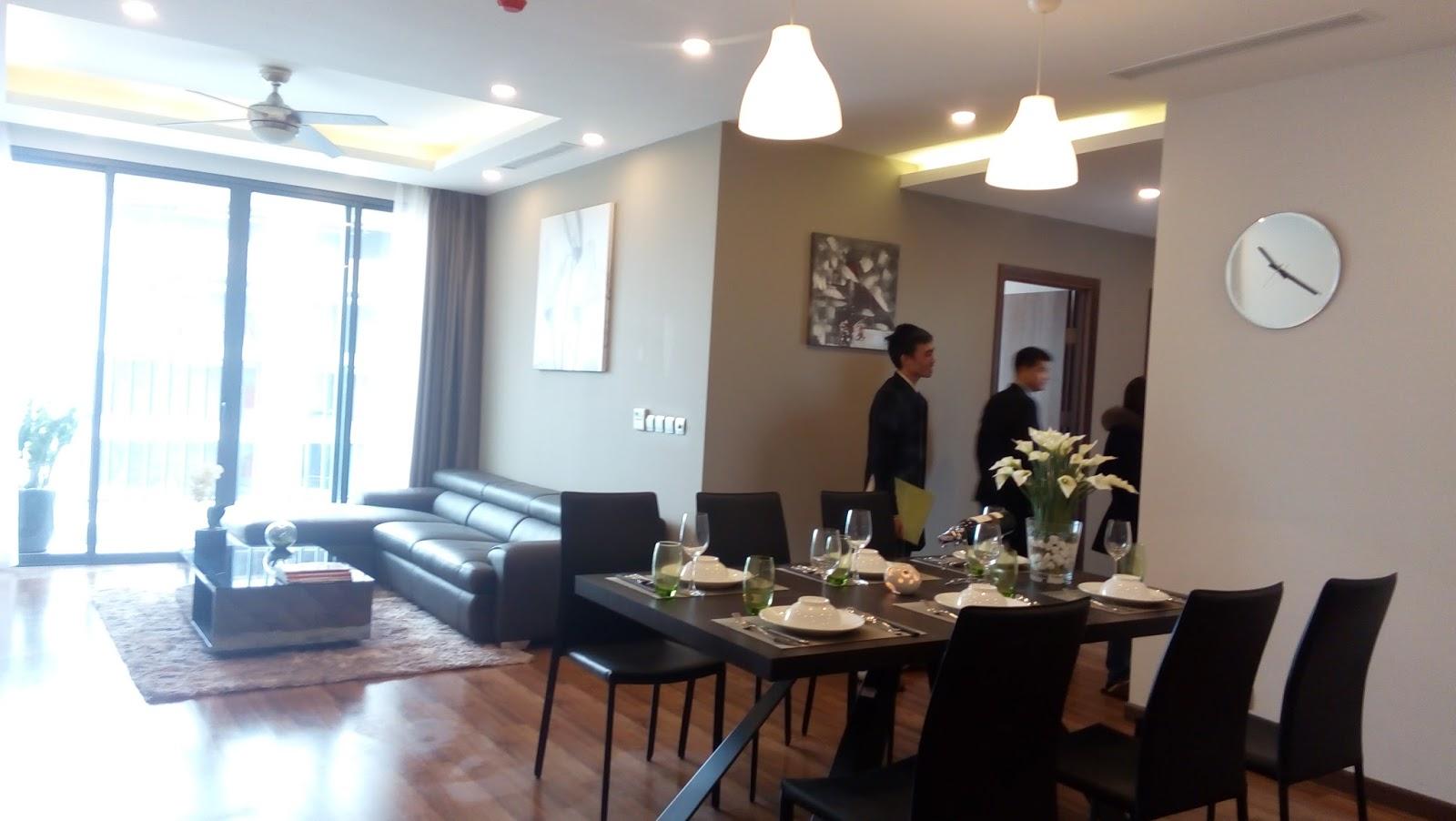 Phương án lựa chọn và ghép căn hộ tại tòa nhà chung cư N01T4 Ngoại Giao Đoàn