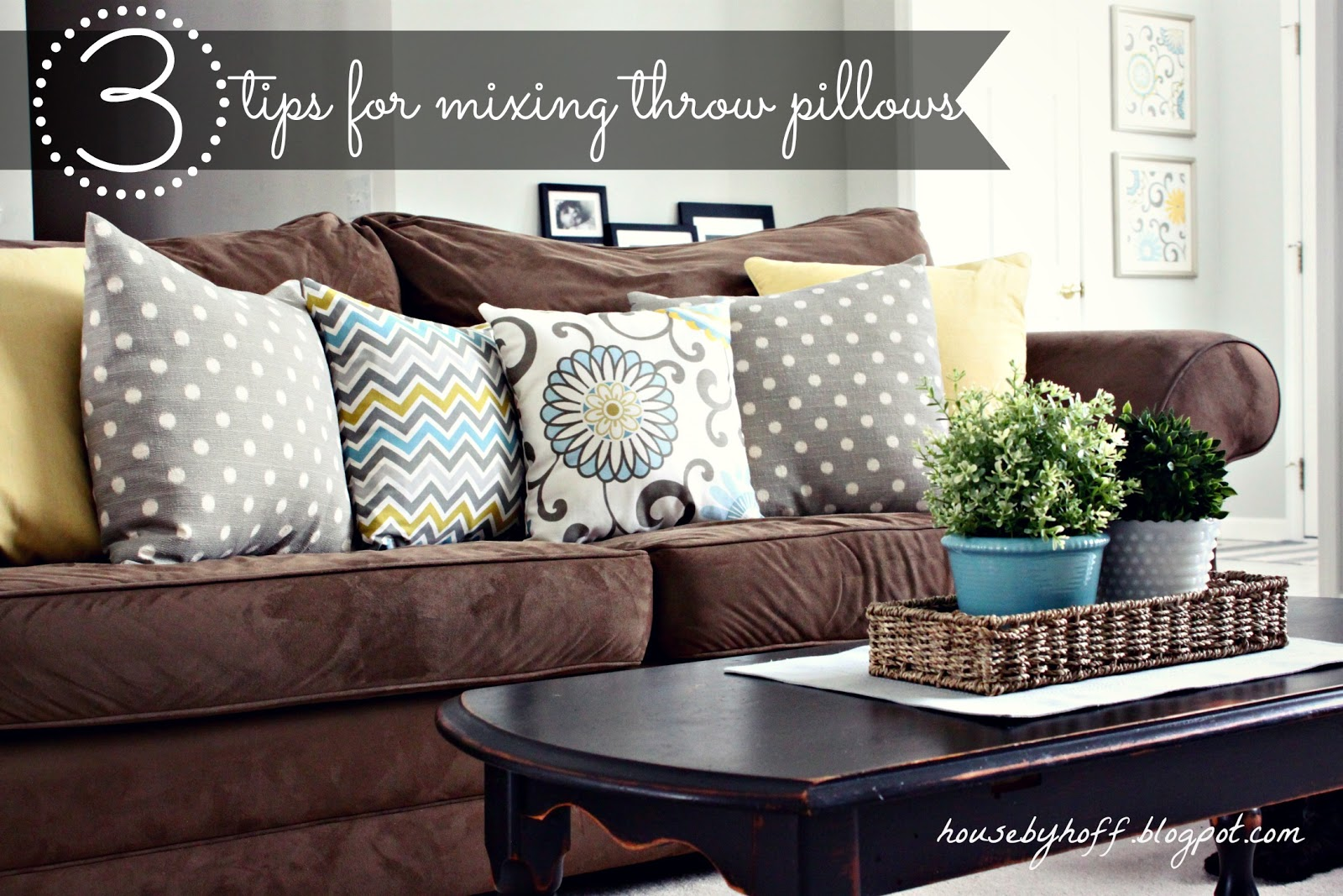 How To Mix Throw Pillows Via Housebyhoff