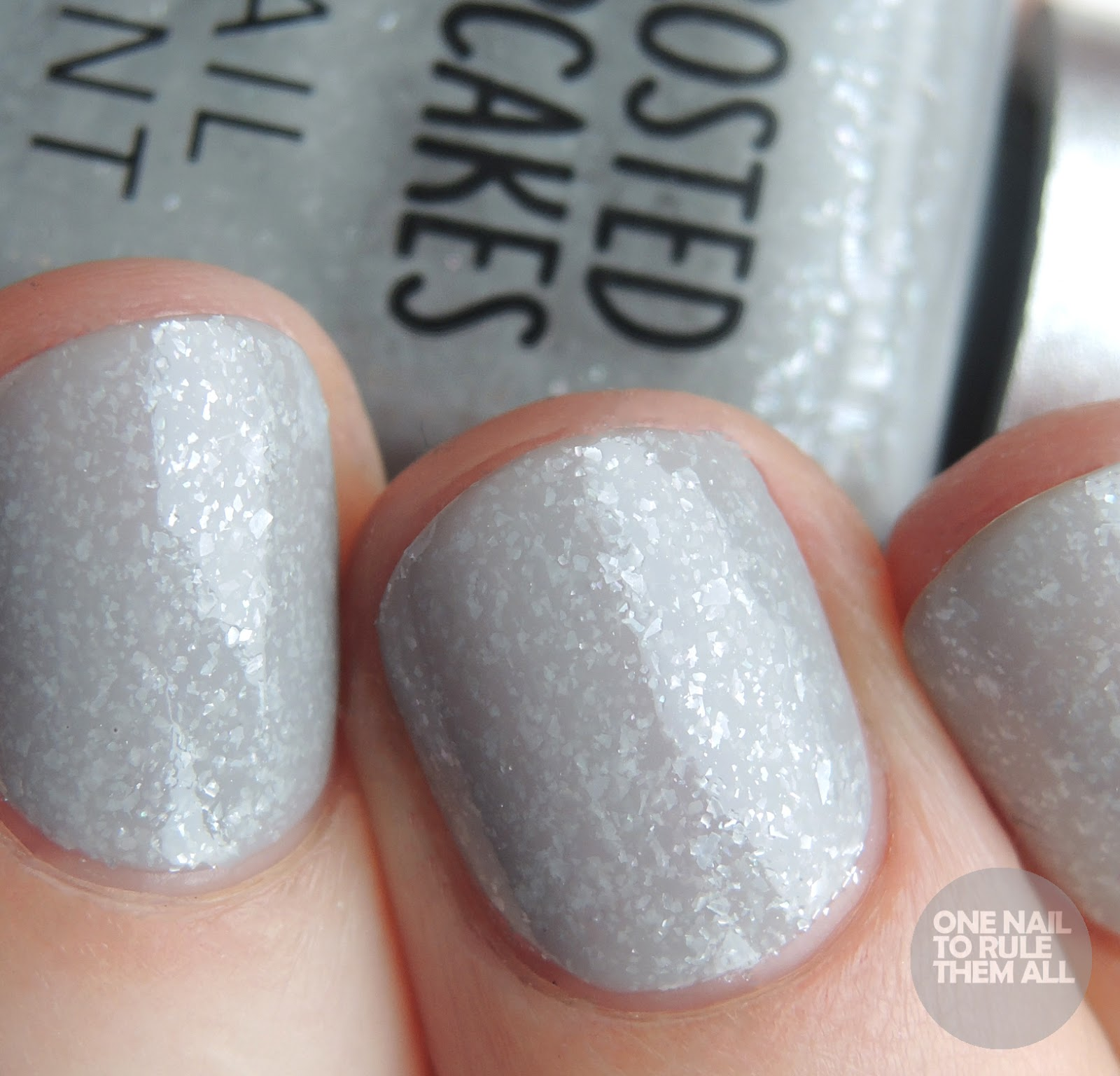 Frosted Cupcake Nail Polish - Creative Touch