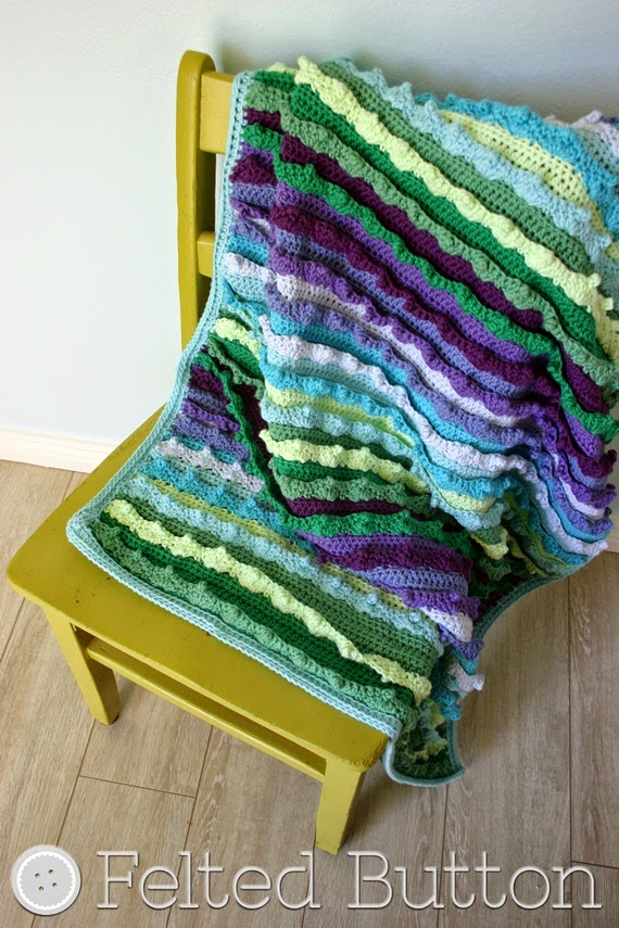Eventide Blanket (crochet pattern by Susan Carlson of Felted Button)