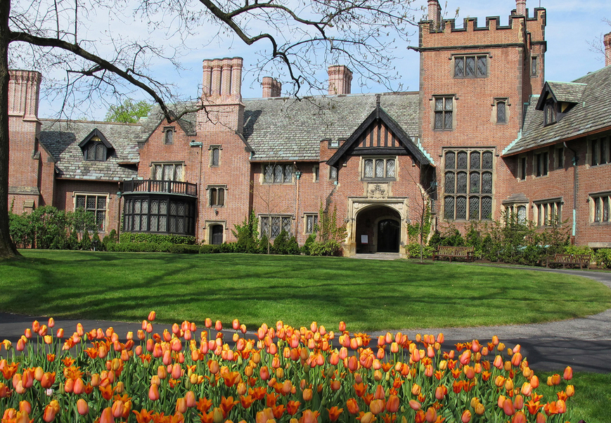 Stan Hywet Hall And Gardens Wedding Venue
