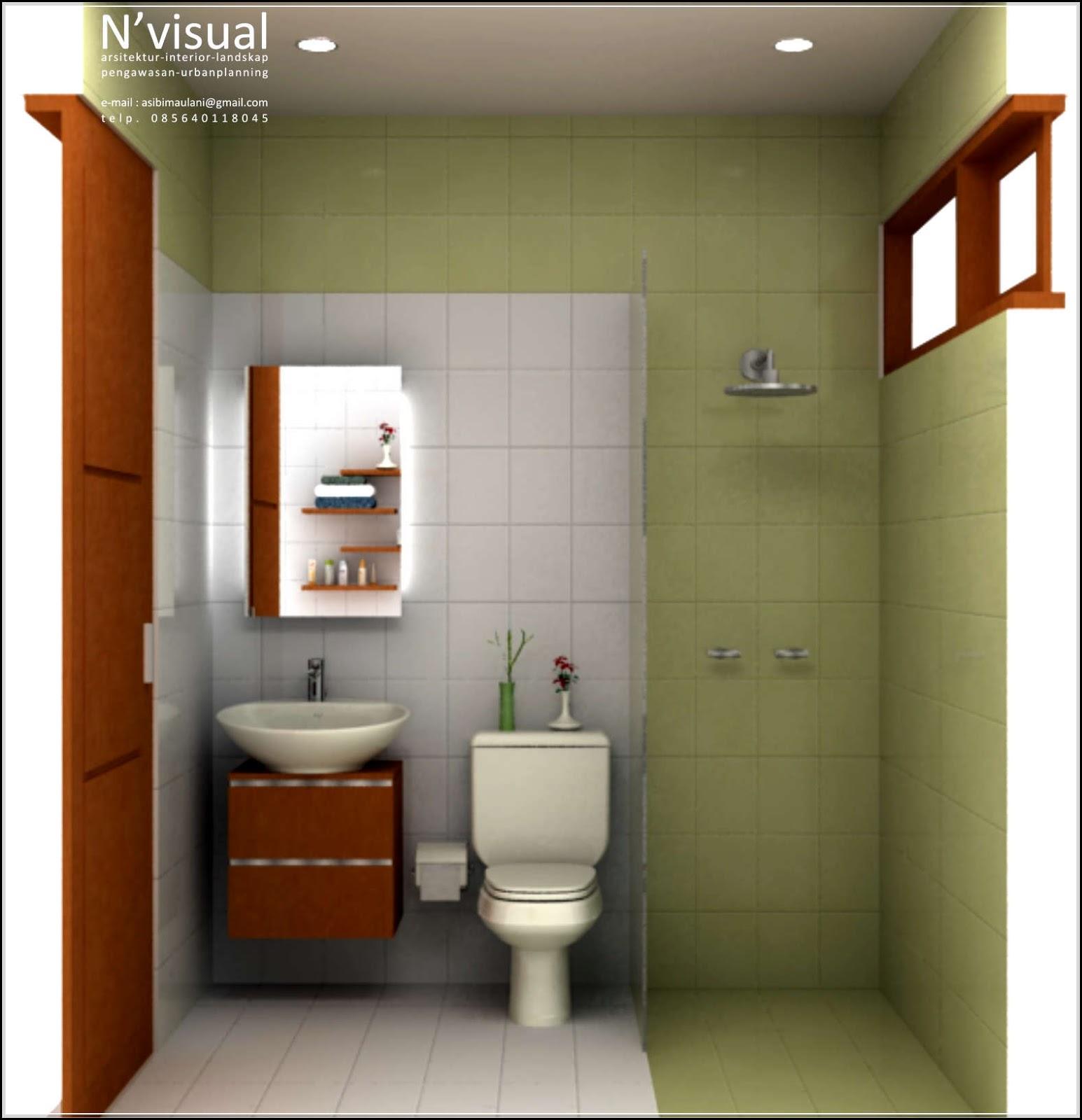 42 Desain Kamar Mandi Sempit Minimalis Ukuran Kecil Yang ...