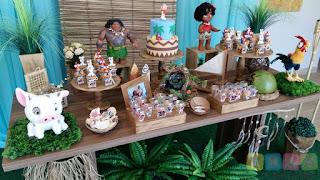 Decoração festa infantil Moana Porto Alegre