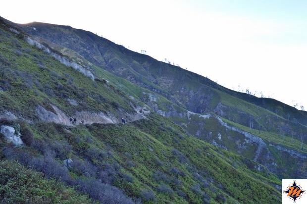Kawah Ijen, sulla via di ritorno