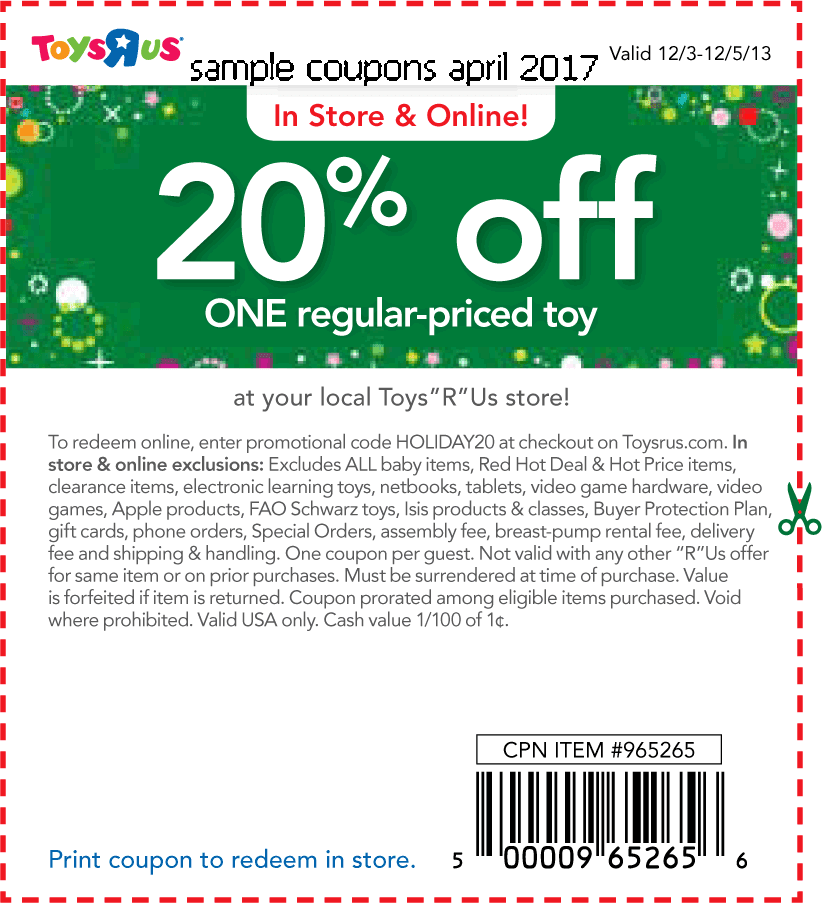 Lego Toys R Us Coupon 2017 Printable : Printable coupons toys r us