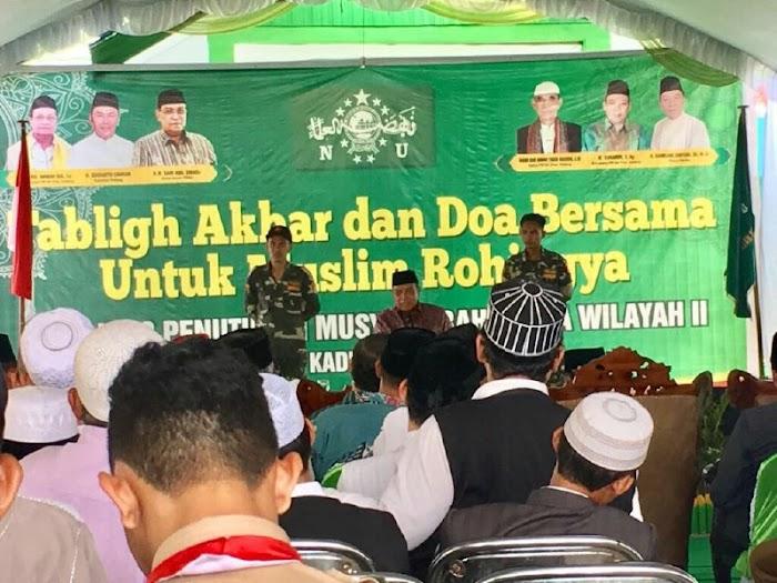 Aksi Kemanusiaan untuk Rohingya Bersama Ketum PBNU dan Gubernur Dihelat PWNU Kalteng
