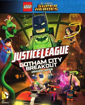 Lego Superheroes Gotham City Breakout (2016) HD 1080p Latino