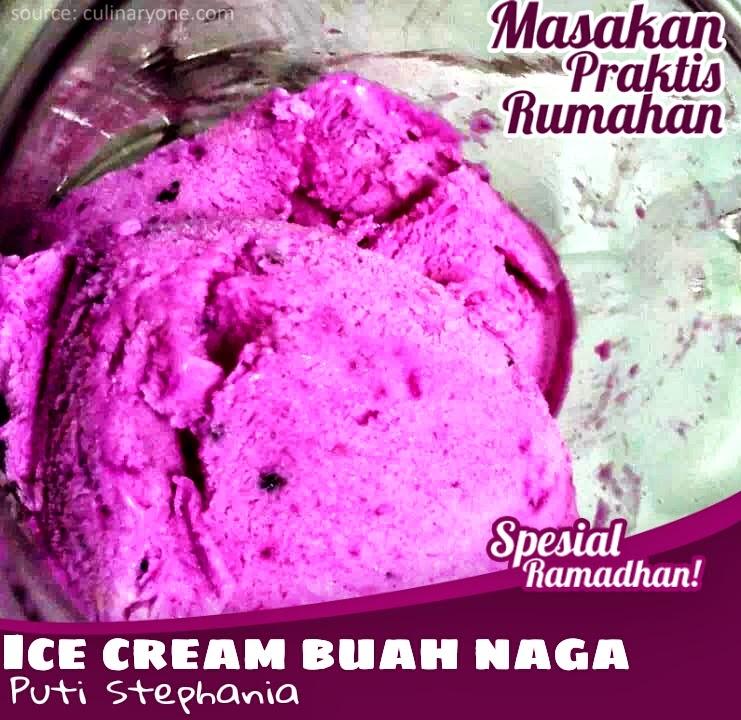 Resep Masakan Praktis Rumahan Indonesia Sederhana Ice Cream