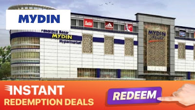 RM80 for RM100 Mydin Cash Voucher