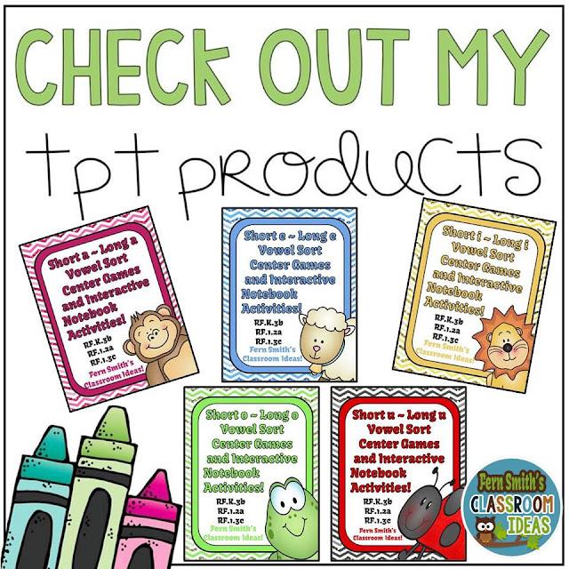 https://www.teacherspayteachers.com/Store/Fern-Smiths-Classroom-Ideas/Category/Vowels-151062