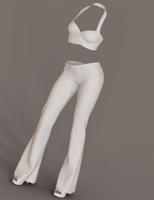 Daydreamer Outfit for Genesis 3 Female
