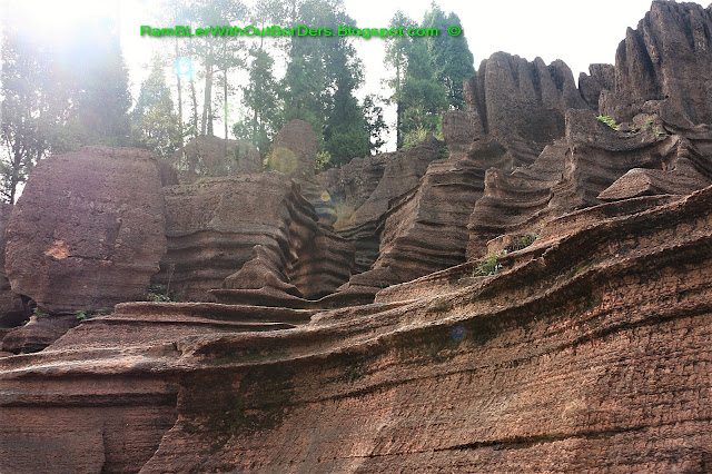 Red Stone Forest National Geological Park, Hunan, China