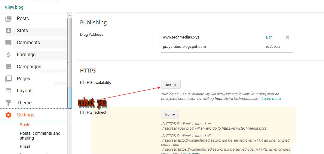 Tricks to Move from HTTP to HTTPS without loosing Ranking in blogger