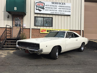 window tint applied to 1967 charger