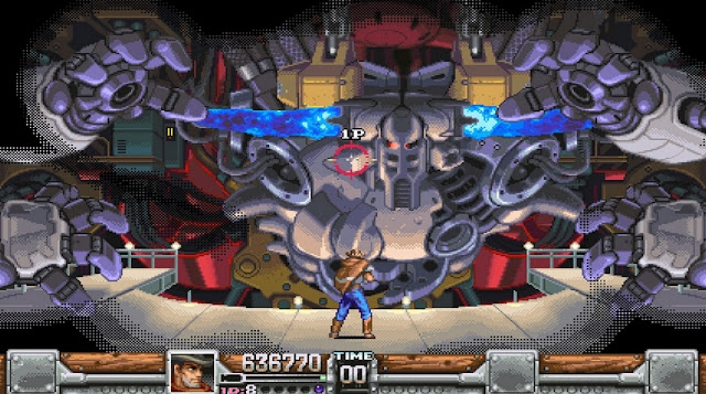 Wild Guns: Reloaded on PlayStation 4