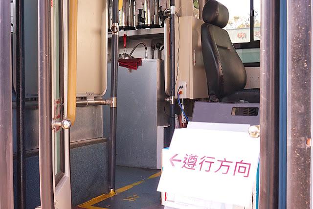 DSC09149 - 中科飲料店│輕飲哲中科巴士店,乘著巴士賣飲料去,等等先別上車,要買請靠窗 (已歇業