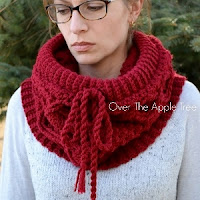 Cabled Cowl by Over The Apple Tree