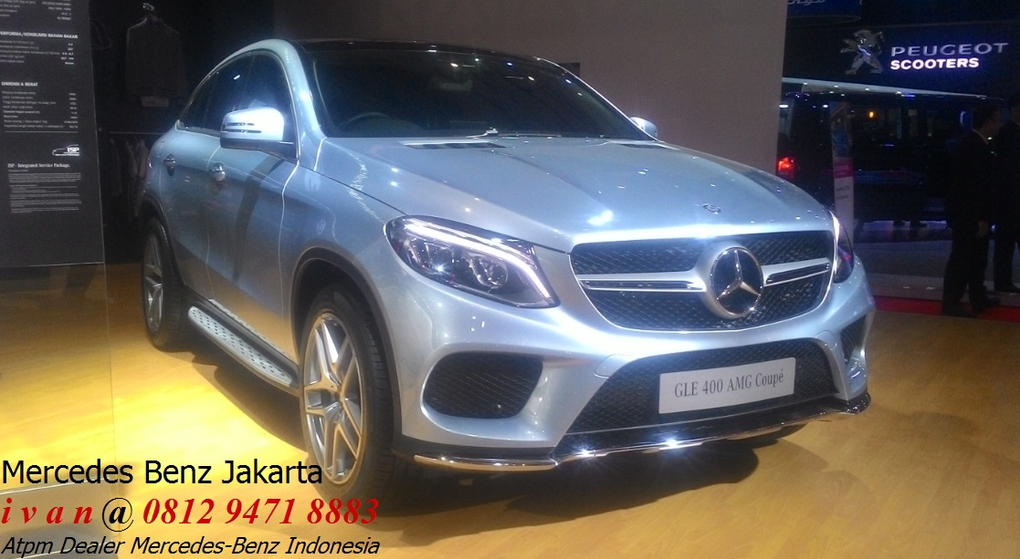 New gle 400 amg coupe 2017 dealer mercedes benz jakarta for Dealer mercedes benz