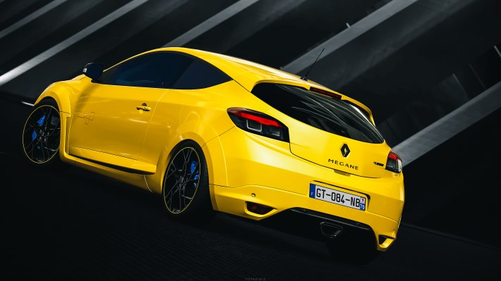 Wallpaper: Renault Megane Sport RS 2