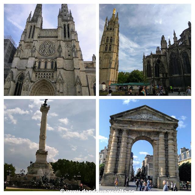 Monumentos de Burdeos, Francia