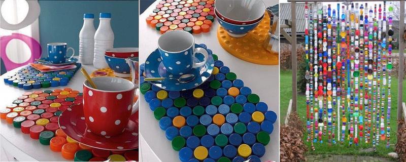 Creare oggetti con i tappi di plastica  Il Fai Da Te
