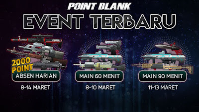 Event Absen Point Blank PB Garena Indonesia