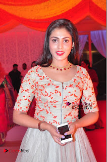 Actress Madhu Shalini Exclusive Stills in Party Dress at Vijay Karan Aashna Wedding  0013.JPG