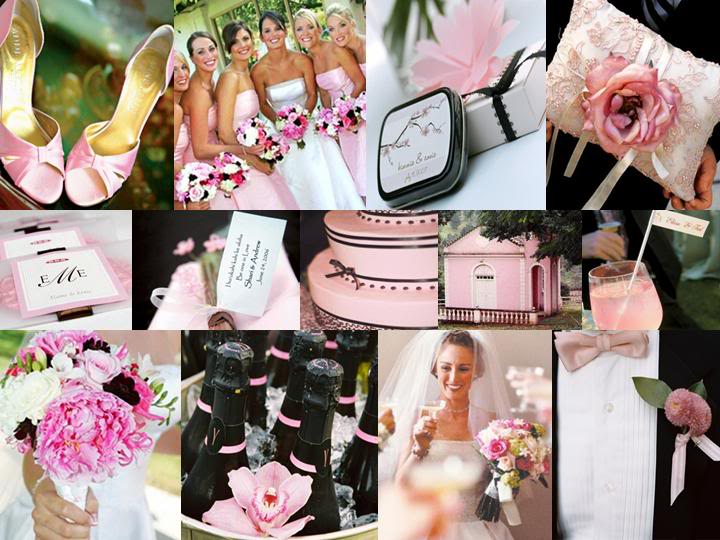Pink And Black Wedding Ideas: LQ Designs : The Perfect Palette: {A Sweet Summer Wedding