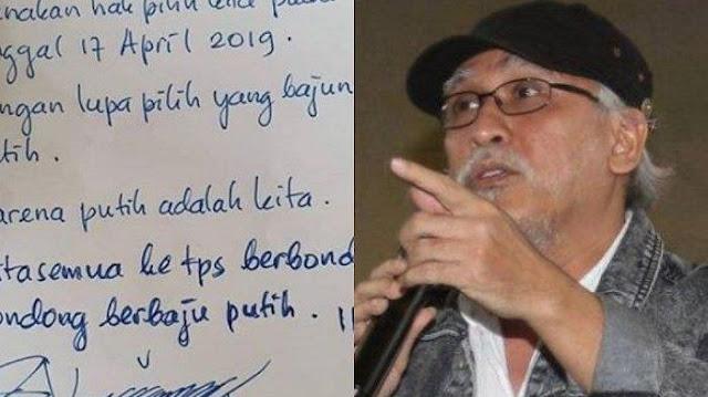 Jokowi Usul ke TPS Pakai Baju Putih, Iwan Fals: Pakai Batik dan Baju Adat Cermin Kebhinekaan