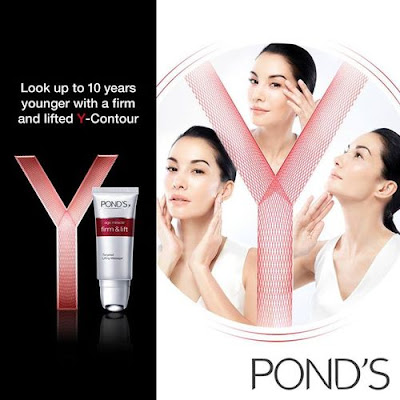 Y-Contour, New Shape of Y,Pond's Age Miracle Firm & Lift Range