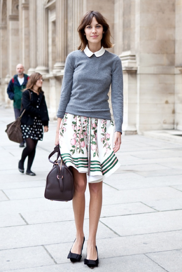 Ayu Adiras: Queen of Street Style part 2 : Alexa Chung